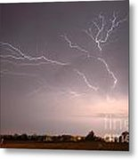 High Voltage Metal Print by Steven Townsend