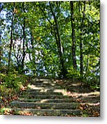 Hiking In Virginia Kendall Metal Print by Kristin Elmquist