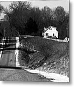 Hilly House Metal Print