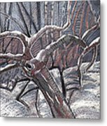 Hold Out Metal Print