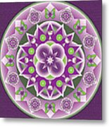 Holy Week Mandala Metal Print by Linda Pope