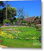Home Gardening Zones Metal Print by Boon Mee