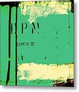 Homeless Shelter Metal Print by Chris Berry