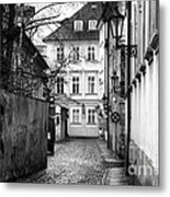 House At The End Metal Print