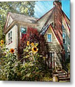 House - Westfield Nj - The Summer Retreat  Metal Print by Mike Savad