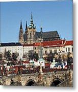 Hradcany - Prague Castle Metal Print