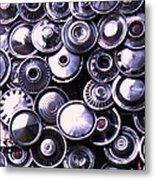 Hubcaps Metal Print