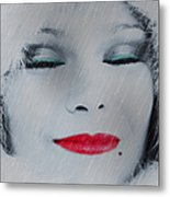 I Love To Smell Fresh Rain Metal Print by EricaMaxine  Price