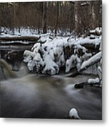 Icy Waters Metal Print