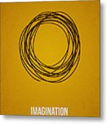 Imagination Metal Print by Aged Pixel