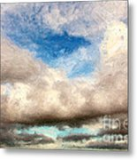 Impressionist Landscape Paintings Metal Print by Boon Mee