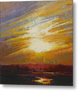 Incandescence Metal Print by Ed Chesnovitch