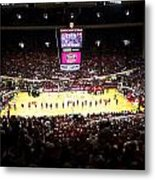 Indiana Hoosiers Assembly Hall Metal Print