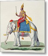 Indra Or Devendra, From Linde Metal Print