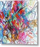 Interchange Between Ambition And Restraint 2 Metal Print by David Baruch Wolk