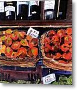 Italian Market Metal Print