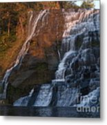 Ithaca Falls  --  Late Afternoon Metal Print by Anna Lisa Yoder
