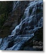Ithaca Falls At Dusk Metal Print by Anna Lisa Yoder