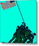 Iwo Jima 20130210m128 Metal Print by Wingsdomain Art and Photography