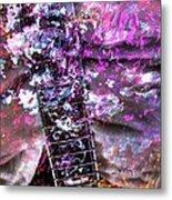 Jammin Out Digital Guitar Art By Steven Langston Metal Print