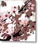 Japanese Blossom Metal Print by Sarah OToole