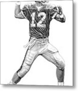 Jim Kelly Metal Print by Harry West