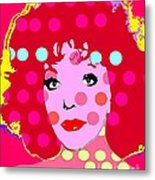 Joan Collins Metal Print by Ricky Sencion