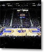 Kansas State Wildcats Fred Bramlage Coliseum Metal Print by Replay Photos