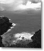 Kilauea Lighthouse I Metal Print by Maxwell Amaro
