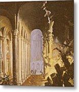 King Asa Of Judah Destroying The Statue Metal Print by Francois de Nome