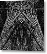 King Of The Wood Metal Print