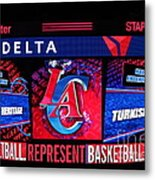 La Clippers Turkish Heritage Metal Print by RJ Aguilar