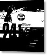 Laguna Seca Racing Cars 2 Metal Print by Naxart Studio