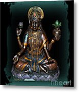 Lakshmi Hindu Goddess Metal Print by Eva Thomas