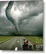 Large Tornado Metal Print