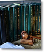 Lawyer - The Code Of Criminal Justice Metal Print