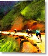 Le Tour De France 02 Metal Print
