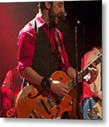 Leader Band Marco Metal Print by Jocelyne Choquette