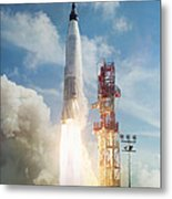 Lift Off Metal Print by Peter Chilelli
