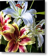 Lily Bouquet Metal Print by Garry Gay