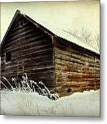 Little Shed Metal Print by Julie Hamilton