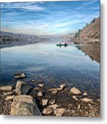 Llanberis Lake Metal Print by Adrian Evans