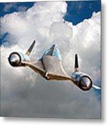 Lockheed Blackbird A12 Trainer Metal Print