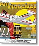 Lockheed L-1049g Super Constellation Metal Print