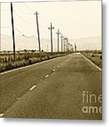 Long Road Home Metal Print