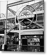 lonsdale quay market shopping mall north Vancouver BC Canada Metal Print by Joe Fox