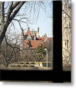 Looking Past The Window  Metal Print by Eugene Bergeron