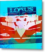 Lotus F1 Racing Metal Print by Naxart Studio