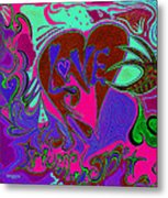 Love Triumphant 3of3 V2 Metal Print by Kenneth James