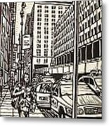 Manhattan Metal Print by William Cauthern